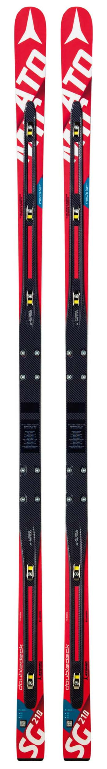 Atomic 2017 Redster D2 2.0 FIS SG W (40M) Race Skis w/Binding Options NEW !! 210cm