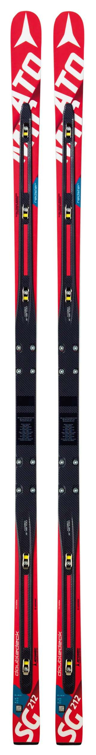 Atomic 2017 Redster D2 2.0 FIS SG M (45M) Race Skis w/Binding Options NEW !! 212cm