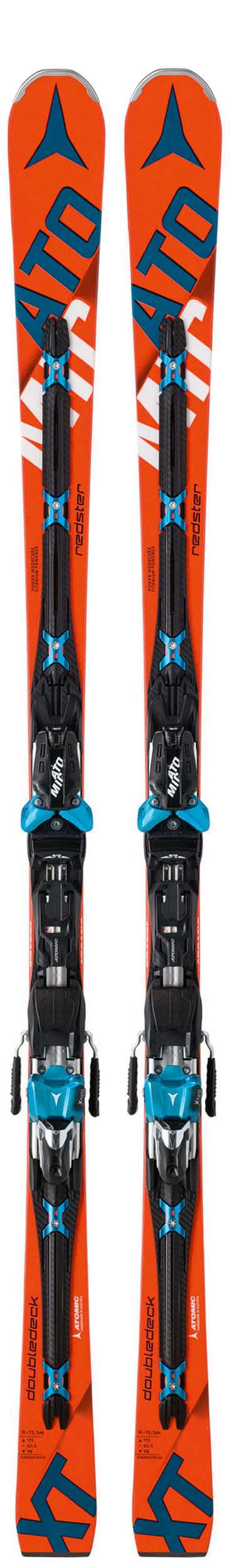 Atomic 2017 Redster D2 3.0 XT Skis w/TL 14 Bindings NEW !! 182cm