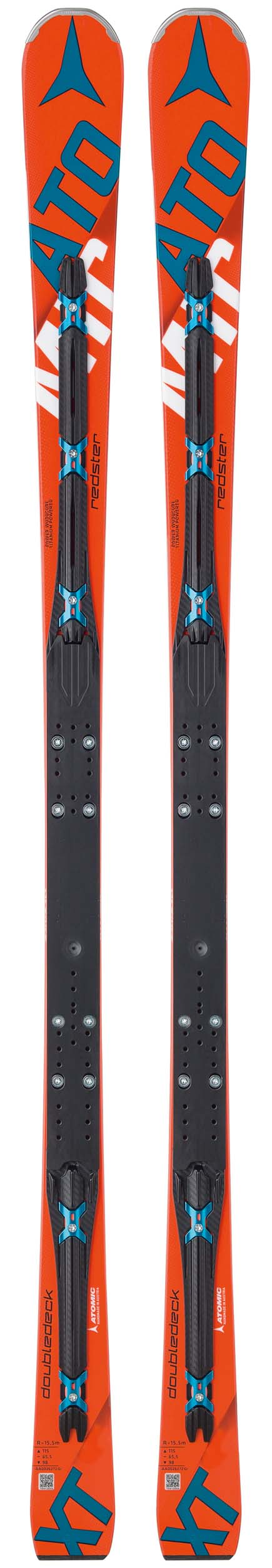 Atomic 2017 Redster D2 3.0 XT Skis w/Plate NEW !! 182cm