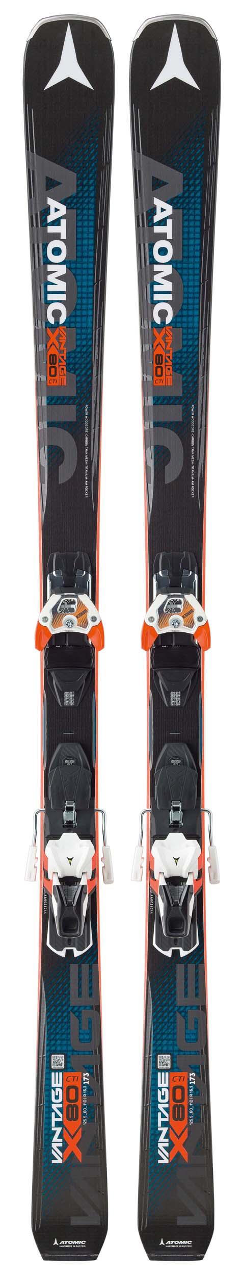 Atomic 2018 Vantage X 80 CTI Skis w/ Warden 13 DT Bindings NEW !! 166,173,180cm