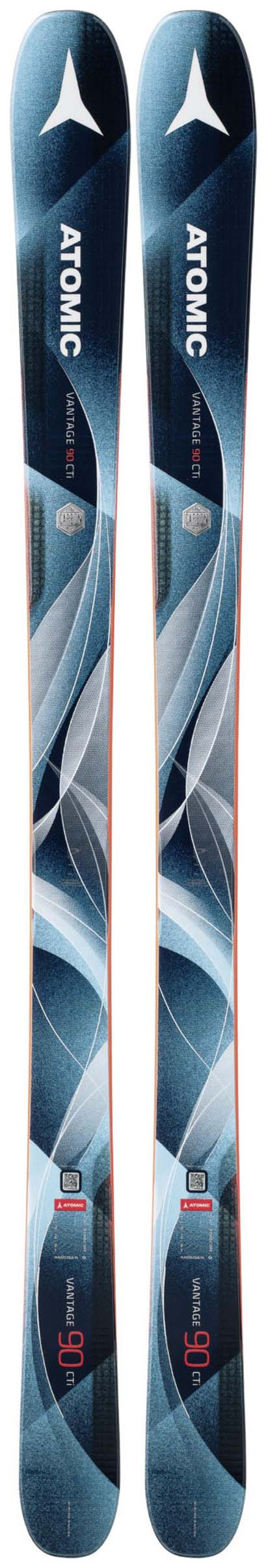 Atomic 2018 Vantage 90 CTI WMN Skis (Without Bindings / Flat) NEW !! 153,161,169cm