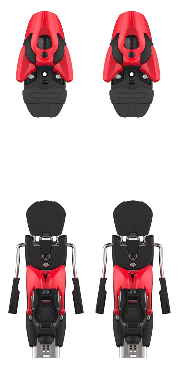 Atomic 2022 Red/Blk Colt 10 (DIN 3-10) Bindings NEW !! Width:75mm