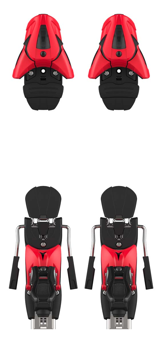 Atomic 2022 Red/Blk Colt 12 (DIN 4-12) Bindings NEW !! Width:75mm