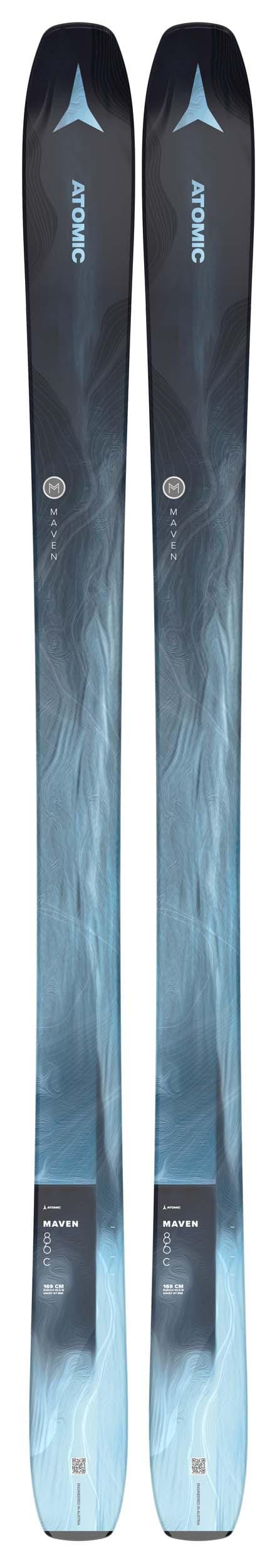 Atomic 2022 Maven 86 C Skis (Without Bindings / Flat) NEW !! 161cm