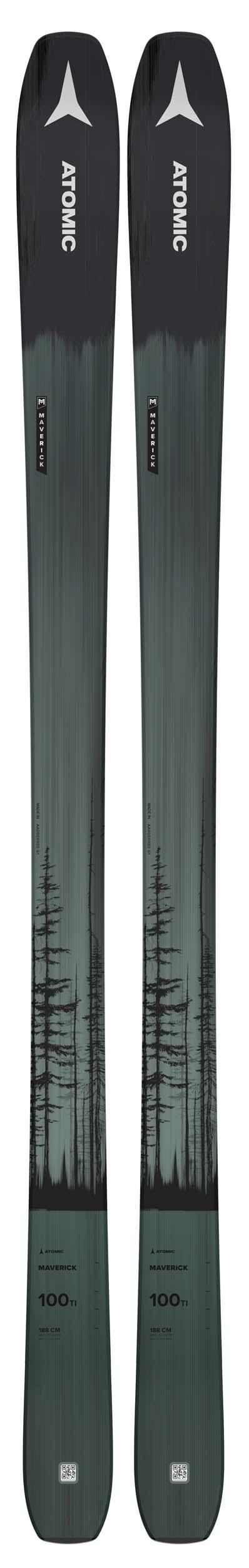 Atomic 2022 Maverick 100 TI Skis (Without Bindings / Flat) NEW !! 172,180cm