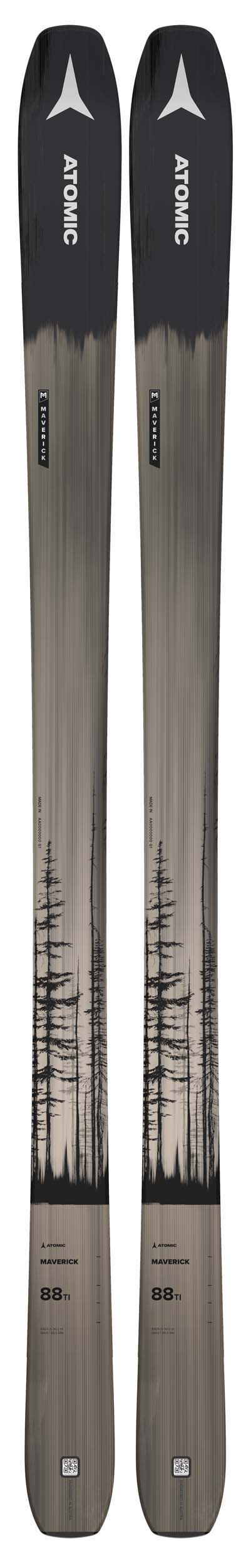 Atomic 2022 Maverick 88 TI Skis (Without Bindings / Flat) NEW !! 169cm