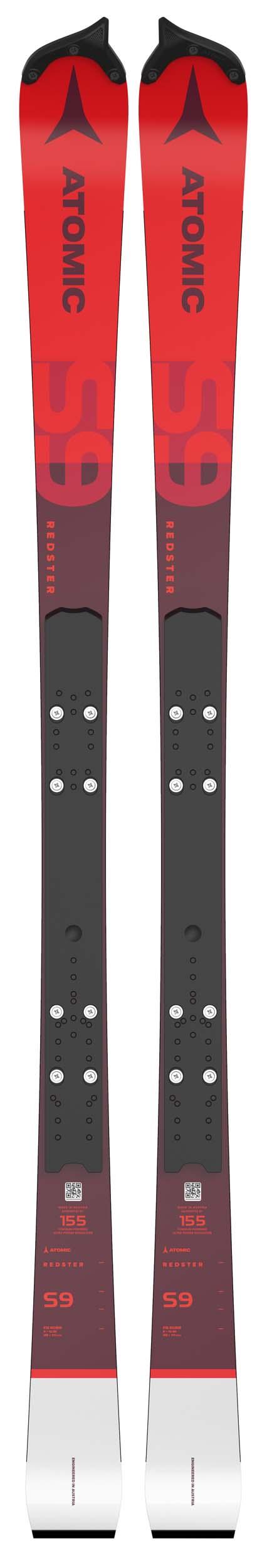 Atomic 2022 Redster S9 FIS SL Skis w/Binding Option NEW !! 155cm