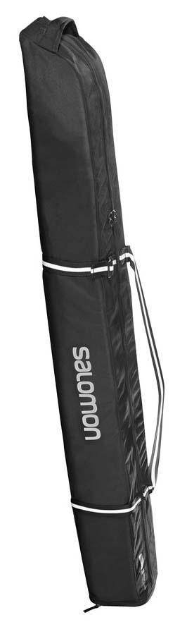 Salomon 2019 Extend Black Padded Ski Bag (1 Pair) NEW !! 165-185cm