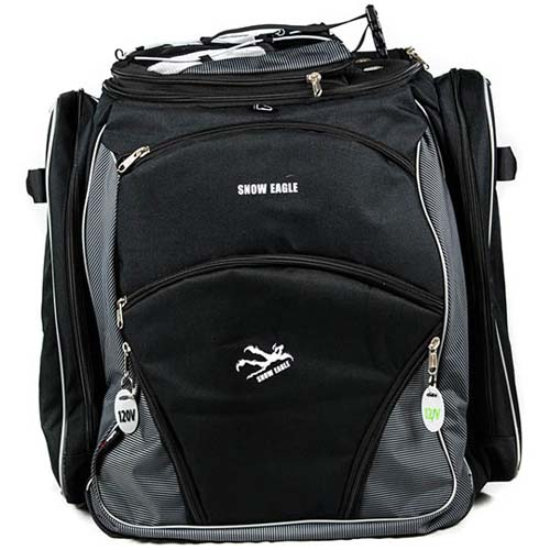 Snow Eagle Pro Model Heated Boot Bag 120v /12v Black NEW !!
