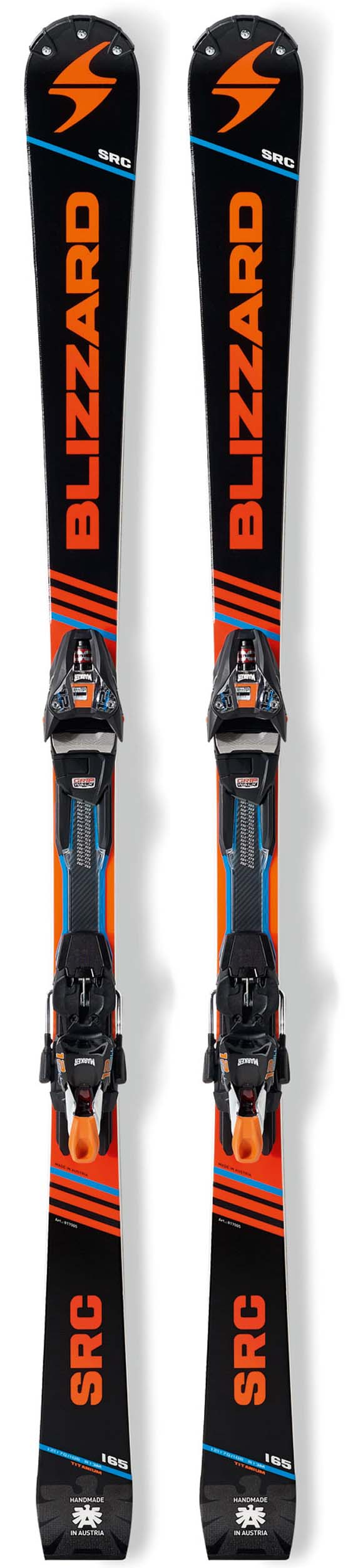Blizzard 2018 SRC Racing Skis w/Xcell 12 Bindings NEW !! 170cm