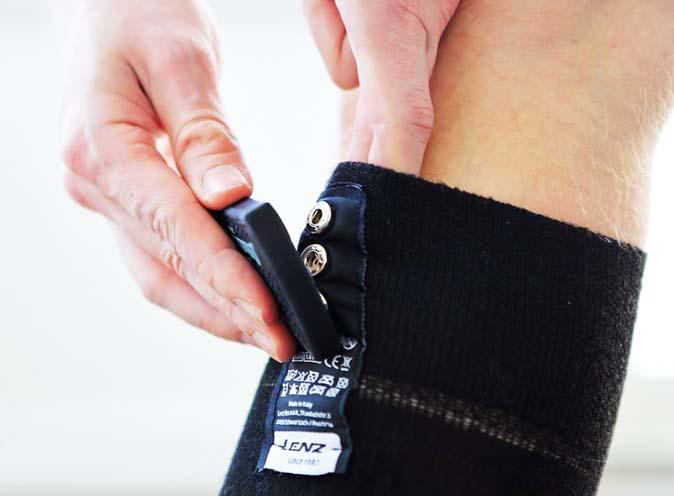 Lenz Heat 4.0 Socks + rcB 1200 Lithium Battery Packs NEW !! Size: S,L,XL 3