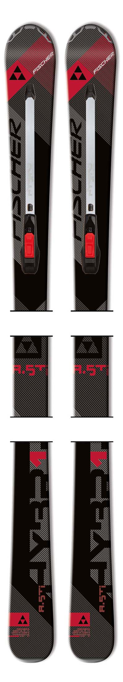 Fischer 13 - 14 Hybrid 8.5 Ti Skis (No Bindings / Flat) NEW !!  175cm
