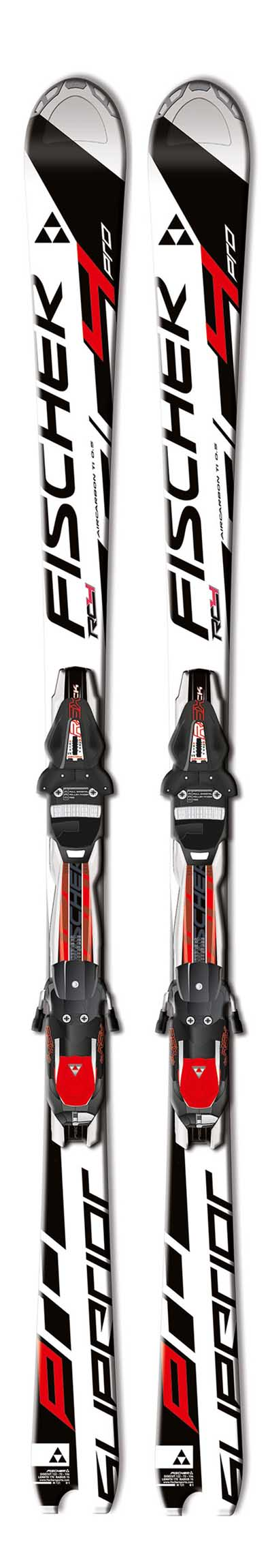 Fischer 13 - 14 RC4 Superior Pro Skis w/RSX 12 Bindings NEW !!  160cm