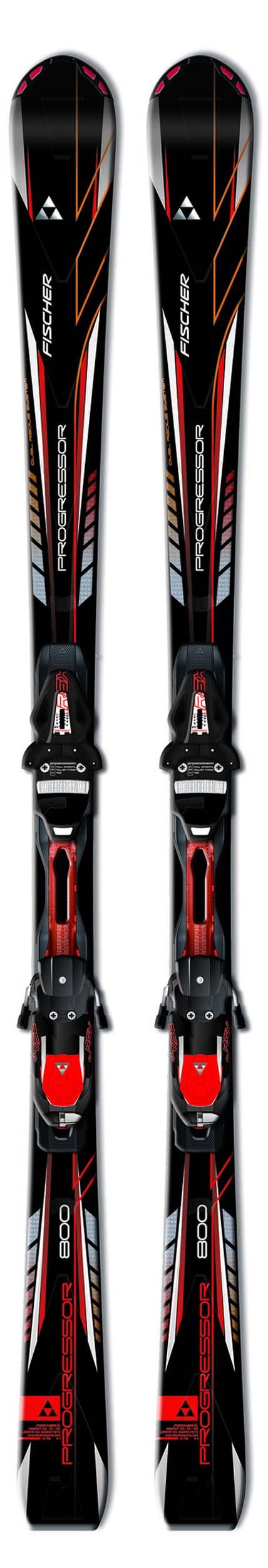 fischer 14 15 progressor 800 skis w rsx 12 bindings new. Black Bedroom Furniture Sets. Home Design Ideas