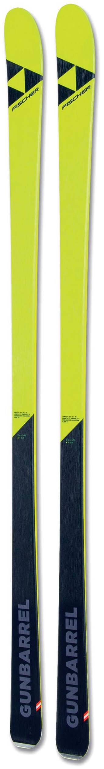 Fischer 2020 Gunbarrel Skis (No Bindings / Flat) NEW !! 163,170,177cm