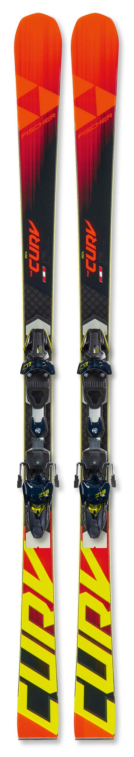 Fischer 2020 RC4 The Curv Curv Booster Skis w/RC4 Z13 Freeflex Bindings NEW !! 164,171,185cm