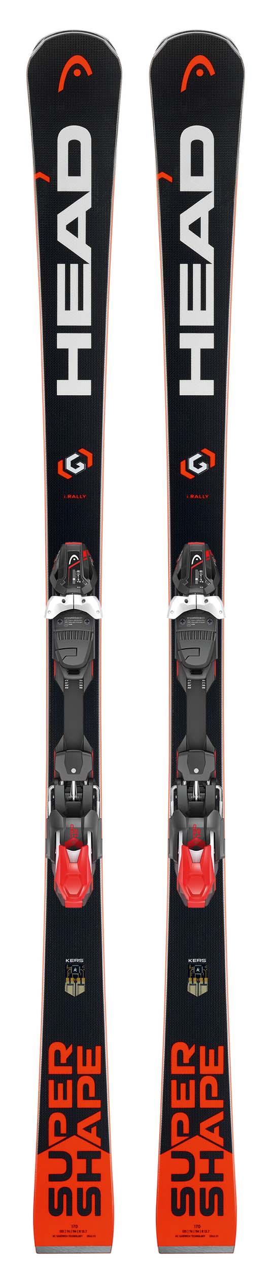 Head 2018 Supershape i.Rally SW Skis w/PRD 12 Bindings NEW !! 163cm