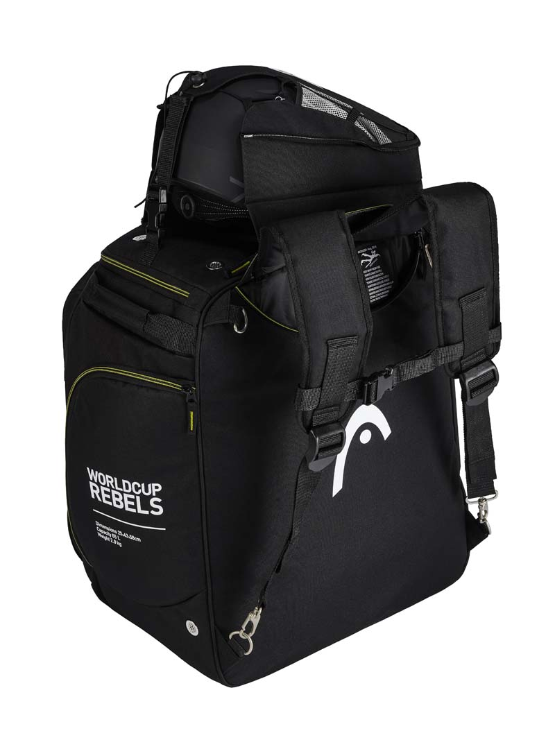 Head 2021 Rebels Heatable Boot Bag 120v /12v Black NEW !!