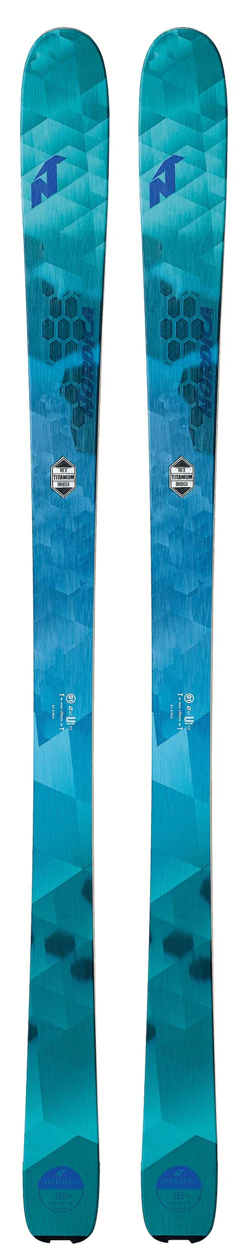 Nordica 2018 Astral 84 Skis (Without Bindings / Flat) NEW !! 151cm