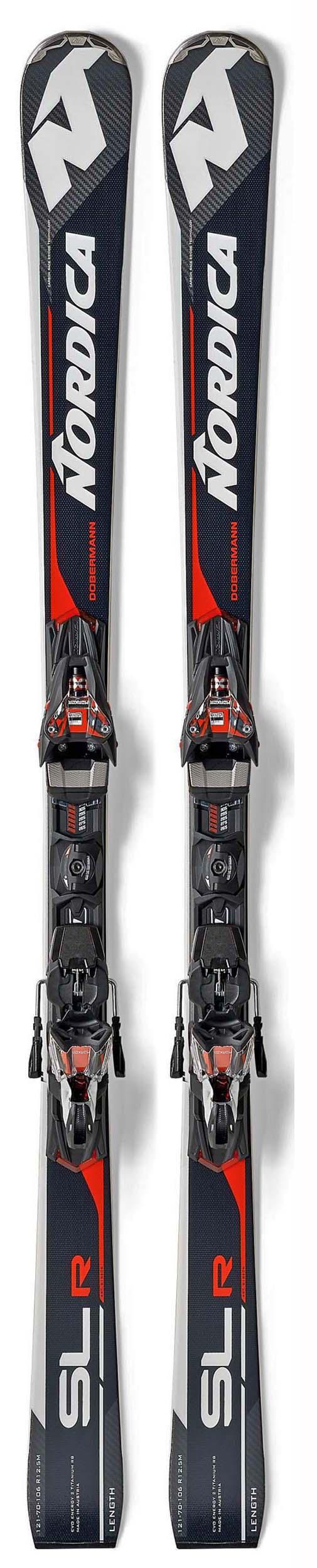 Nordica 2018 Dobermann SLR RB EVO Skis w/X-Cell Evo 12 Bindings NEW !! 160cm