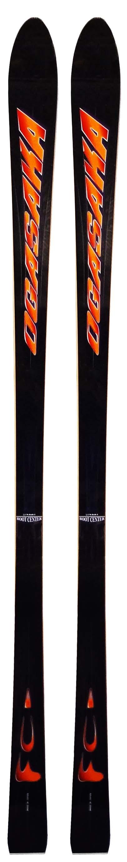 Ogasaka 00 - 01 FC Black Skis (No Bindings / Flat) NEW !!  175,180cm