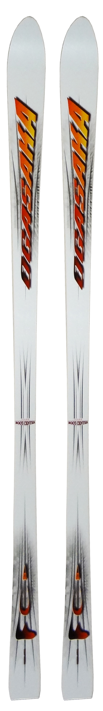Ogasaka 00 - 01 FC White Skis (No Bindings / Flat) NEW !!  180,185cm