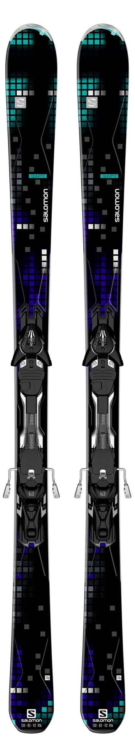 Salomon 14 - 15 Quartz Skis w/XT12 Bindings NEW !!  160cm