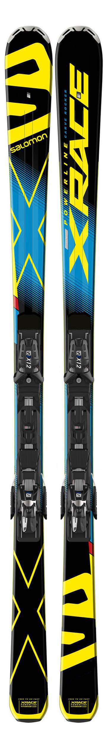 Salomon 2016 X-Race Skis w/X12 TL Bindings NEW !!  180cm