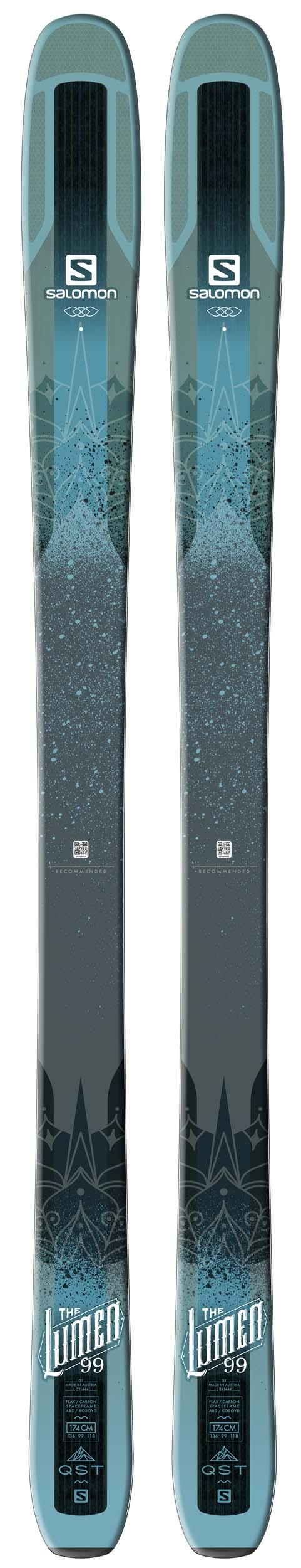 tout neuf def72 7a58b Salomon 2018 QST Lumen 99 Skis (Without Bindings / Flat) NEW !! 153cm