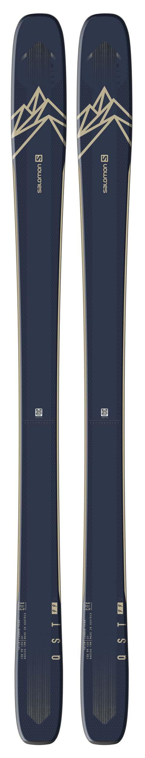 Salomon 2021 QST 99 Skis (Without Bindings / Flat) NEW !! 167,174,181,188cm