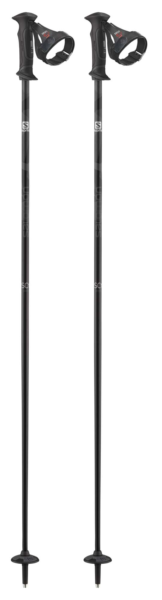 Salomon 2021 SC1 Ergo S3 Ski Poles NEW !!  120,130,135cm