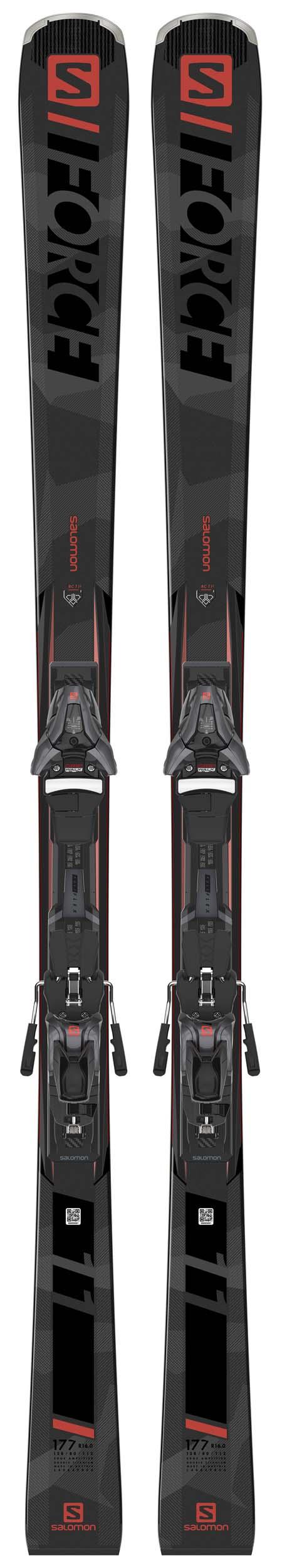 Salomon 2021 S/Force 11 Skis w/Z12 GW Bindings NEW !! 170cm