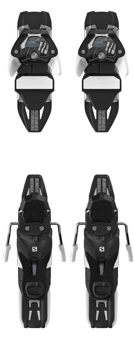 Salomon 2022 Warden MNC 11 D (DIN 3.5-11) Bindings NEW !! Width:100mm