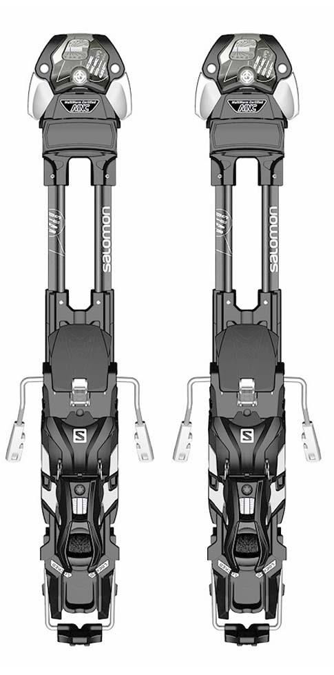 Salomon 2021 Guardian MNC 13 S (DIN 4-13) Bindings  NEW !!  Width:90,100,115,130mm