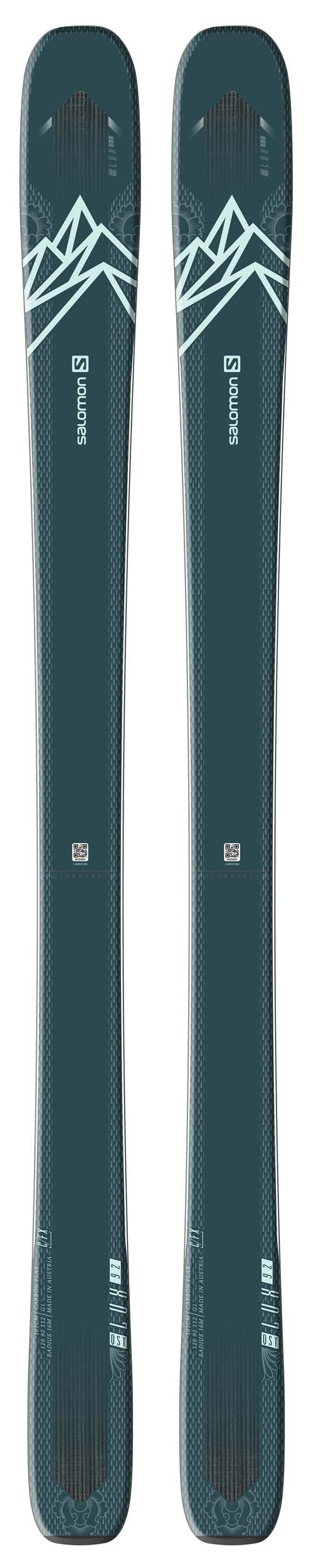 Salomon 2021 QST 92 LUX Skis (Without Bindings / Flat) NEW !! 153,161cm