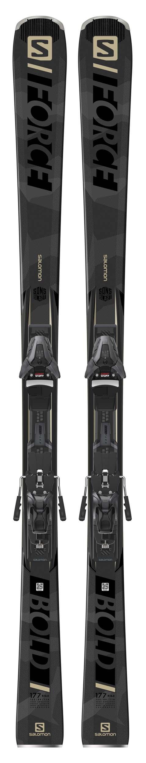 Salomon 2021 S/Force Bold Skis wZ12 GW Bindings NEW !! 170,177,184cm