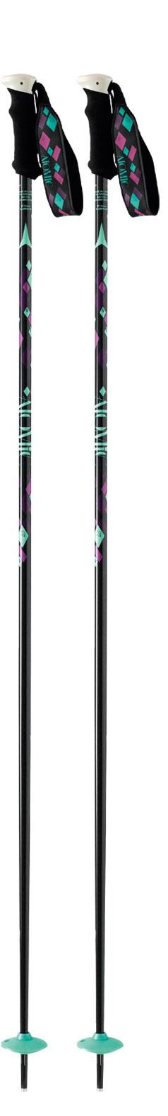Atomic AMT3 W Black Ski Poles NEW !!  125cm