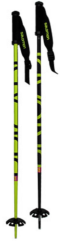Salomon 15 - 16 Brigade Yel/ Blk Ski Poles NEW !! 125cm