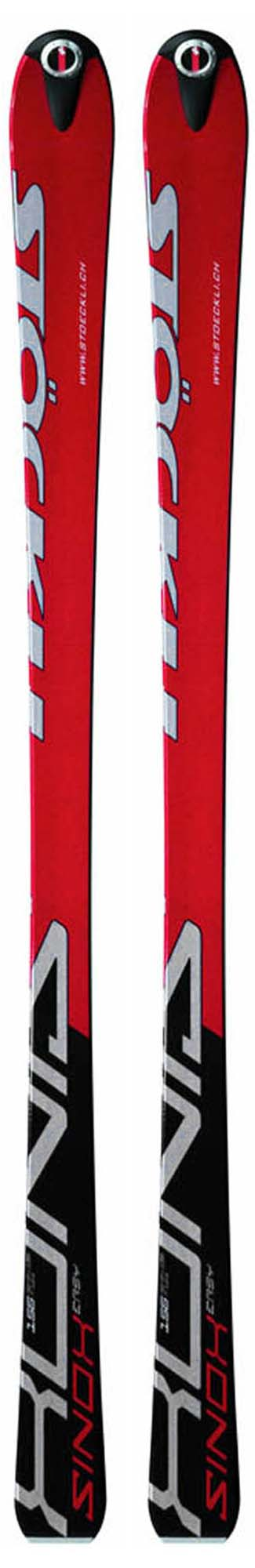 Stockli 2005 Sinox Easy Skis (No Bindings / Flat) NEW !! 164cm