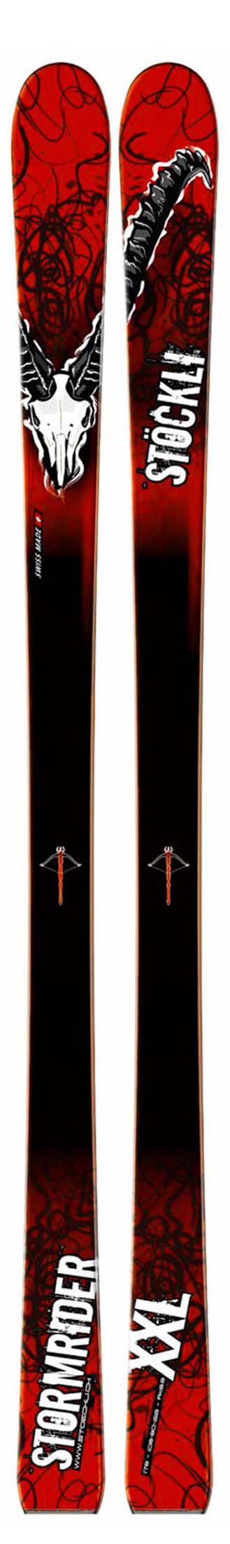 Stockli 2009 Stormrider XXL Skis (No Bindings / Flat) NEW !!  162cm