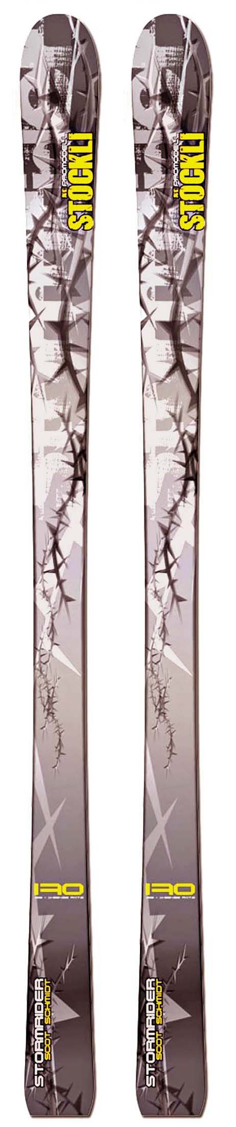 Stockli 10 - 11 Scot Schmidt Pro Skis (No Bindings / Flat) NEW !!  176cm