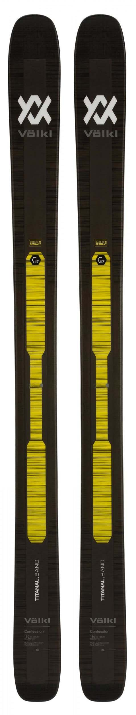 Volkl 2020 Confession Skis (Without Bindings / Flat) NEW !! 179cm