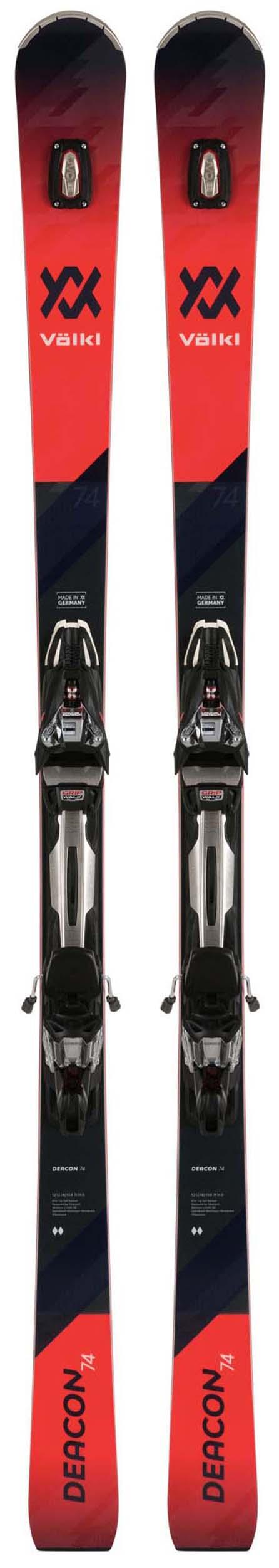 Volkl 2020 Deacon 74 Skis w/rMotion2 12 GW ALU Bindings NEW !! 168,173cm