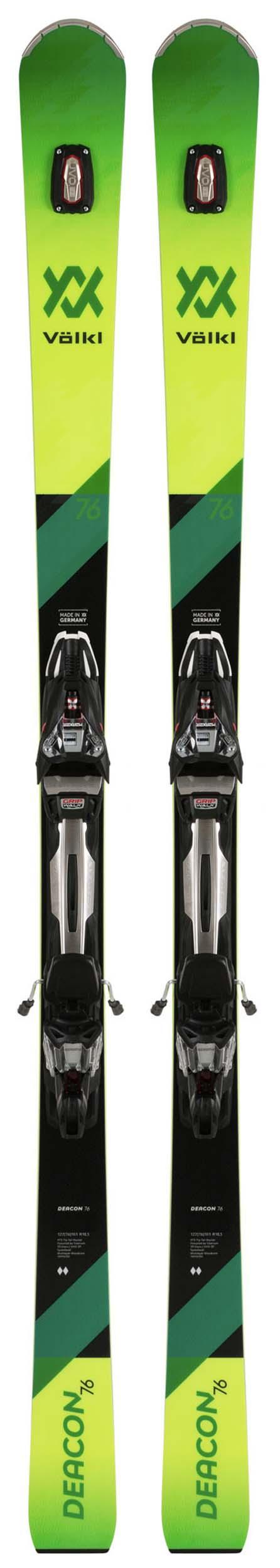 Volkl 2020 Deacon 76 Skis w/rMotion2 12 GW ALU Bindings NEW !! 171cm