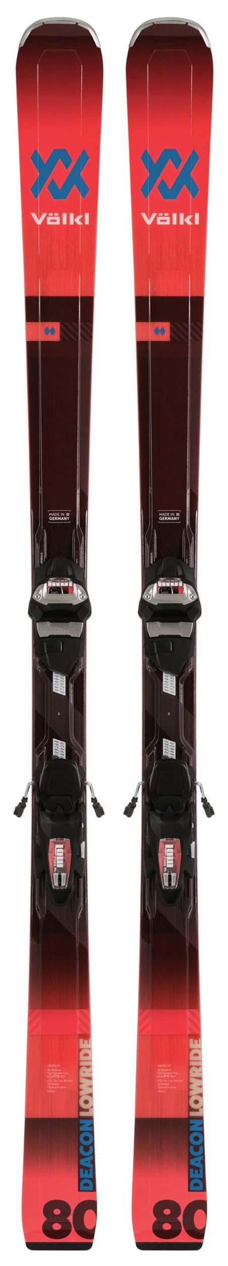 Volkl 2020 Deacon 80 Skis w/IPT Lowride XL 13 Bindings NEW !! 177cm